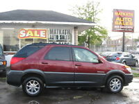 **2002 Buick Rendezvous CXL A.W.D.** Certified & E-tested