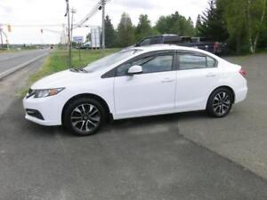 2013 Honda Civic EX sedan Moonroof b/u camera CLEAN $106 BI-WKL