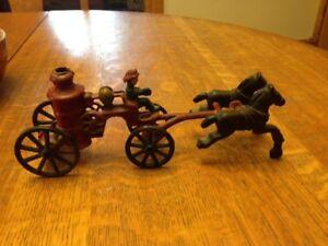 Cast iron Fire truck toy