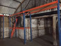 Good Quality Pallet Racking approx 30 bays