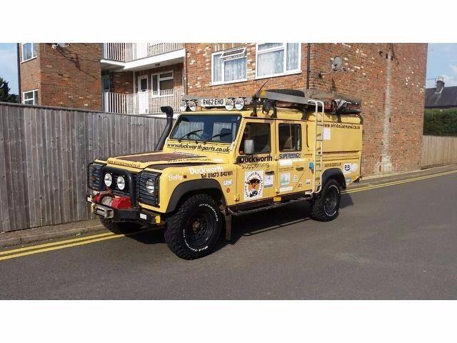 Land Rover Defender 130 2 5 Td5 Crewcab 4dr Expedition