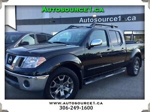 2014 Nissan Frontier SL Crew Cab 4WD **LEATHER**SUNROOF**NAVI**