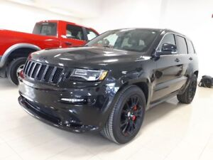 2015 Jeep Grand Cherokee SRT, ALL BLACK, 4X4, CUIR, TOIT, NAV