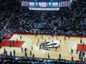 2 tickets RAPTORS section 320 ANY GAME