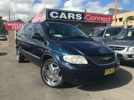 2004 Chrysler Voyager RG SE Blue 4 Speed Automatic Wagon