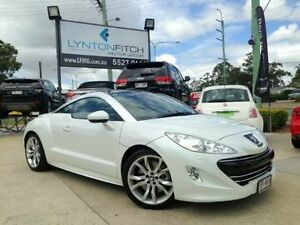 2011 Peugeot RCZ MY13 White Manual Coupe Southport Gold Coast City Preview