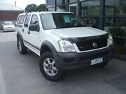 2005 Holden Rodeo RA MY05.5 LX Crew Cab White 5 Speed Manual Utility Invermay Launceston Area Preview