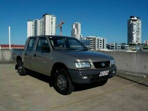 2002 Holden Rodeo TF MY02 LX Crew Cab Gold 5 Speed Manual Utility Southport Gold Coast City Preview