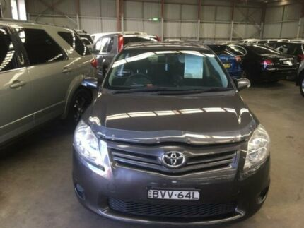 2011 Toyota Corolla ZRE152R Ascent Grey Manual Hatchback