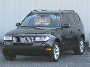 2009 BMW X3 MxDrive30i AWD***96 000 K***FULL EQUIPEE/TOIT/CUIR