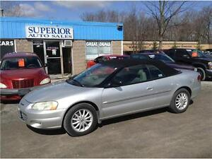 2001 Chrysler Sebring LXi Convetible!