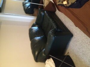FREE leather love seat
