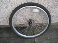 Bike Wheel (24inch) with tyre and tube (brand new)