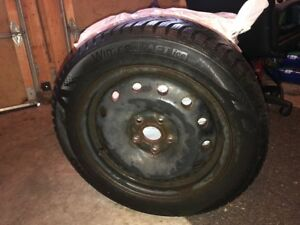 4 Kumho Wintercraft Ice tires for sale