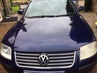 VW PASSAT ESTATE 1.8T PETROL 130BHP BLUE SUPER CONDITION P/X OR SWAP VOLVO V70