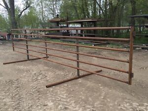 FREESTANDING/WINDBREAK CORRAL PANELS FOR CATTLE/LIVESTOCK Peterborough Peterborough Area image 3