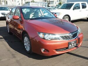 2009 Subaru Impreza Sedan 2.5i Premium Package