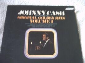 Vinyl LP Johnny Cash Original Golden Hits Volume 1 UK Sun 6467 001 Stereo