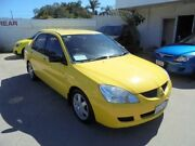 2006 Mitsubishi Lancer CH MY06 ES Yellow 5 Speed Manual Sedan Bayswater Bayswater Area Preview
