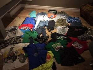 Huge Lot of Boys Clothing - Size 10-12