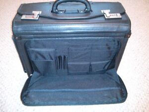 Brand New Bugatti Wheeled Business Case Laptop Rolling Dividers