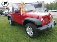 2010 Jeep Wrangler SPORT SOFT TOP ONLY