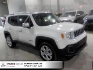 2017 Jeep Renegade Limited 4WD w/ MySky Roof, Navigation