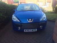 Peugeot 307 Auto 1500 GBP Negotiable Moving out.