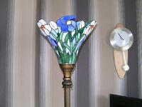 Tiffany Standard Lamp Rare Colour