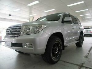 2010 Toyota Landcruiser UZJ200R 09 Upgrade GXL (4x4) Silver 5 Speed Automatic Wagon Fyshwick South Canberra Preview