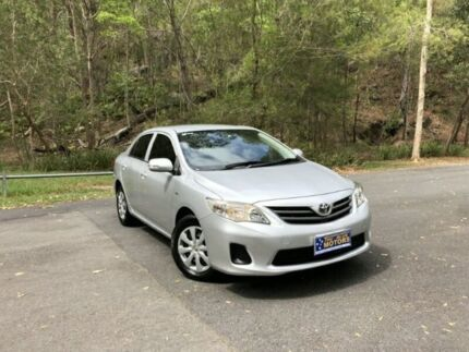 2011 Toyota Corolla ZRE152R MY11 Ascent Silver 4 Speed Automatic Sedan Springwood Logan Area Preview