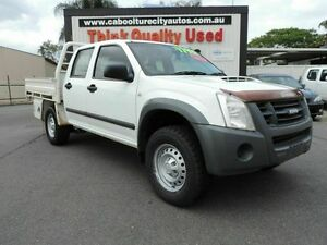 2011 Isuzu D-MAX MY11 SX White 5 Speed Manual Cab Chassis Caboolture South Caboolture Area Preview