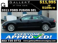 2011 Ford Fusion SEL $109 bi-weekly APPLY NOW DRIVE NOW