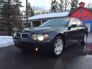 SOLD!! - Gorgeous 2004 BMW 7-Series Sedan