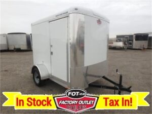 6 X 8 BLAZER Cargo Trailer by Forest River *RAMP DOOR*~ TAX IN!