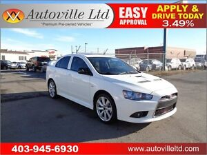 2012 Mitsubishi Lancer RalliArt AWD TURBO HEATED SEATS
