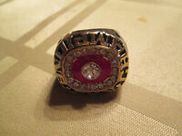 KEN DRYDEN 5 TIME STANLEY CUP MONTREAL CANADAINS RING NICE
