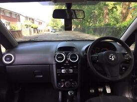 Black Vauxhall Corsa 1.2i 16v Limited Edition 3dr (a/c)