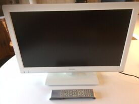 """Toshiba 23"""" LCD TV with built in DVD model: 23DL934B"""