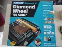 Plasplugs Compact XL Diamond Wheel Electric Tile Cutter