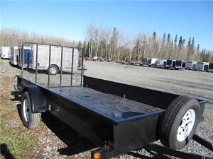 6.5' x 12' UTILITY WITH SOLID SIDES Prince George British Columbia image 4