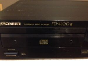 Pioneer PD-4100 Single Compact Disc Player