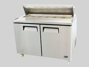 "48"" SANDWICH PREP TABLE - new with  warranty"