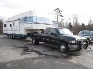 1997 38 Holiday Rambler w/Slides + Dodge Ram 3500 Diesel Pkg