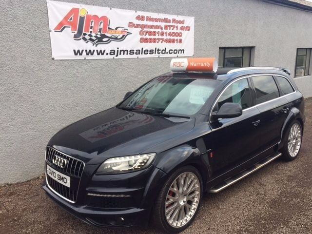 audi q7 s line tdi quattro a 2010 in dungannon county. Black Bedroom Furniture Sets. Home Design Ideas