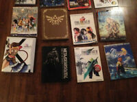 LOT DE GUIDES FINAL FANTASY KINGDOM HEARTS METAL GEAR SOLID ET +