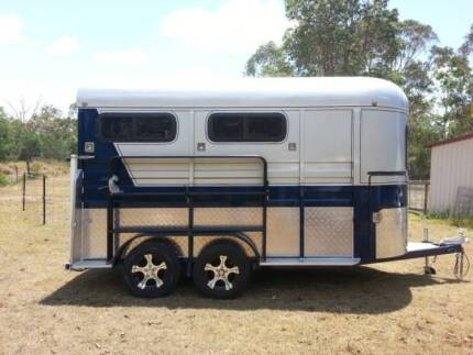 2013 Horse Float either 2HSL or 2HAL or 5 Mini Angle load Jimboomba Logan Area Preview