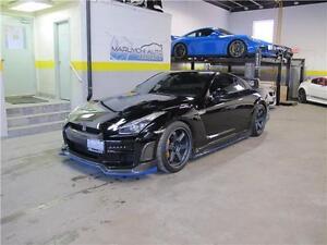 2009 Nissan GT-R R35 TOMMY KAIRA BODY KIT VOLK TE37 MAG BLUE