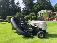McCollouch Hydrostatic Ride on Mower **Mint Condition**