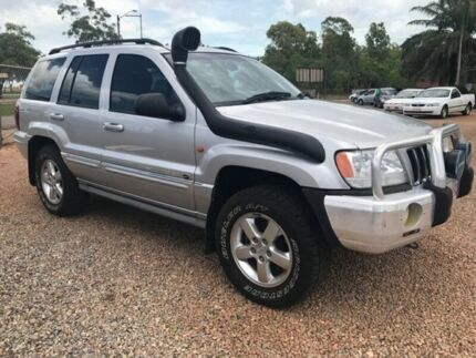2003 Jeep Grand Cherokee WG MY2003 Overland Silver 5 Speed Automatic Wagon